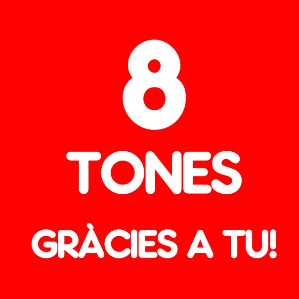 8 tones